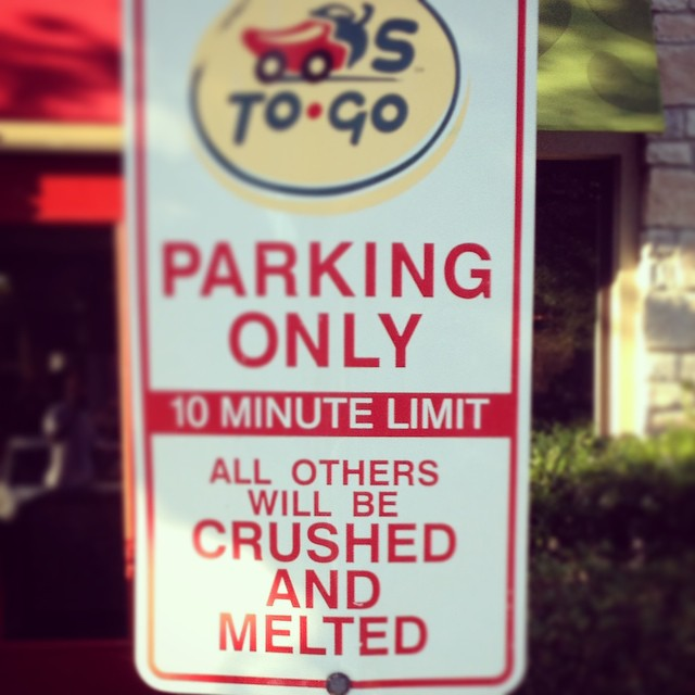 You tell em, Chili's...