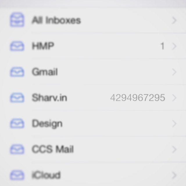 My email just went all Agent Smith on me... #makemoreofme
