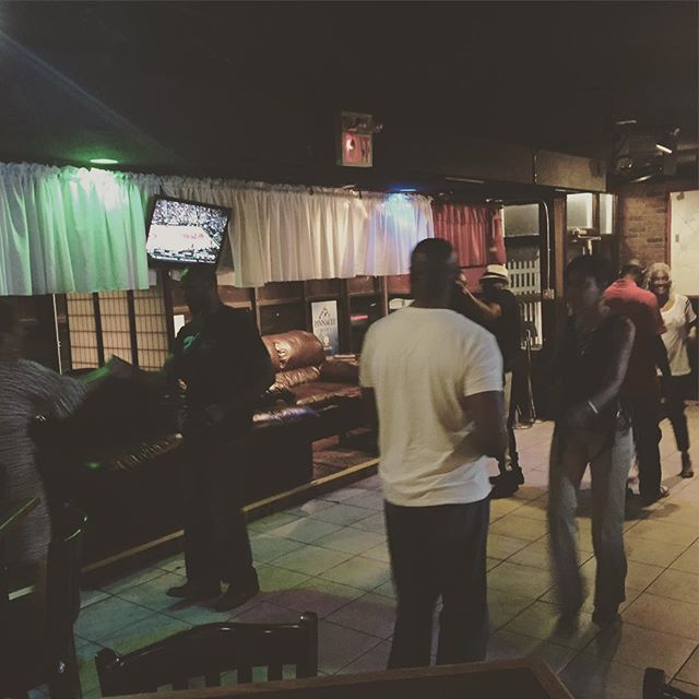 Working it out at #endzonebarandlounge #chicagosteppin #capitalcitysteppers
