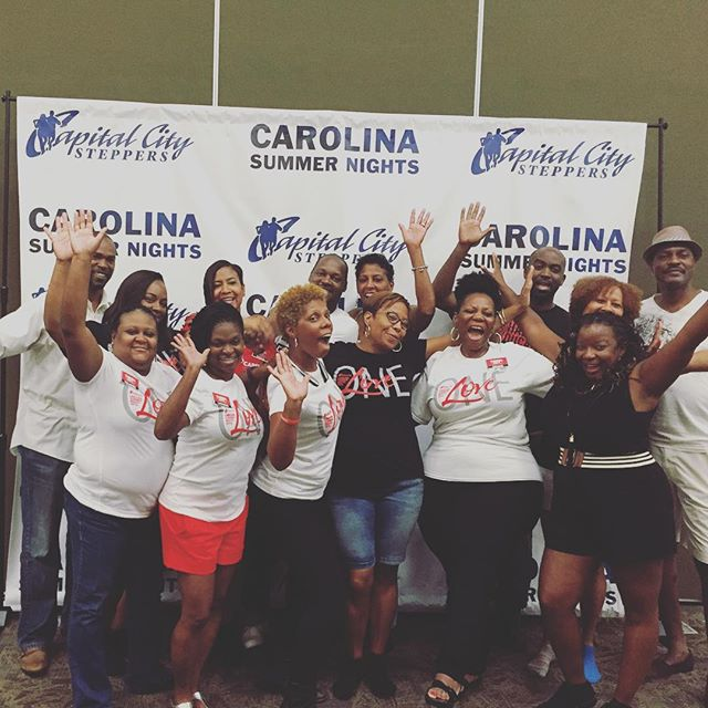 Forever students of the dance. Thanks @sherrydancervoted1st for your time and expertise. #csn2016 #capitalcitysteppers #carolinasummernights #fundamentalsfirst @ccs_stepping